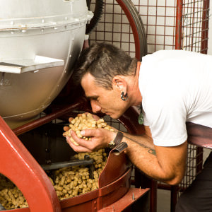 Erdnuss Röstmaschine