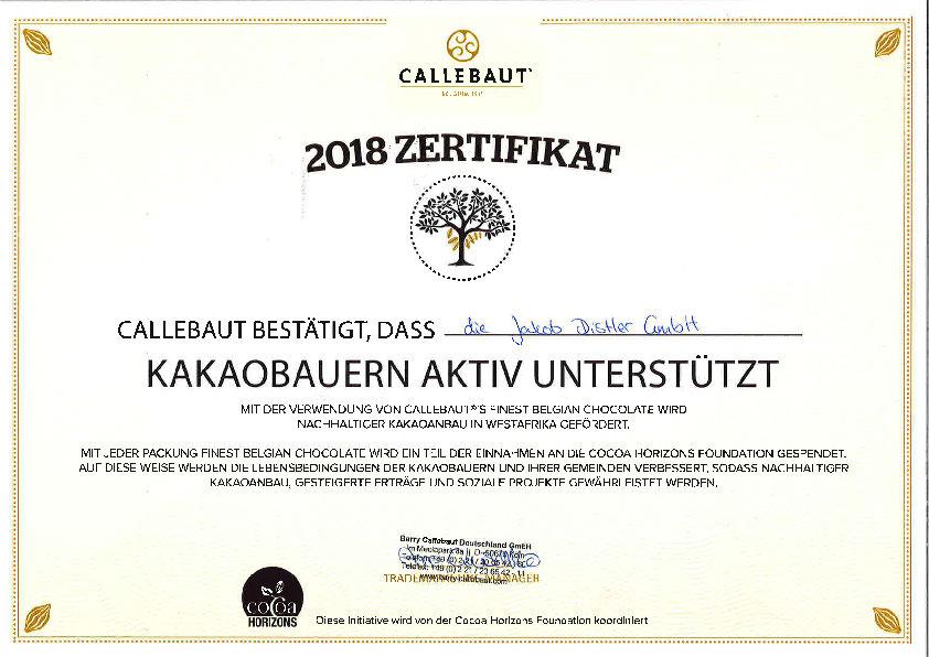 Cocoa Horizon Zertifikat